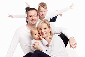 Familien Fotoshooting Lichtenberg