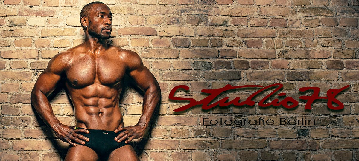 Fitness Fotoshooting Mann