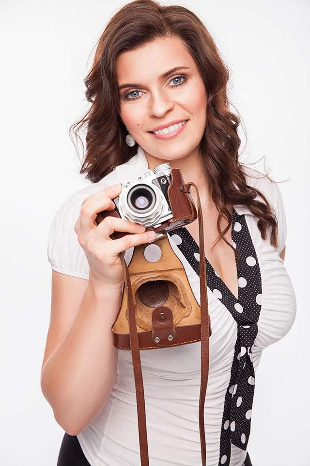 Fashion mit alter Kamera